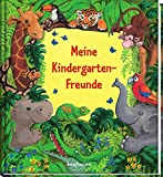 Meine Kindergarten-Freunde: Dschungel (Freundebücher für den Kindergarten / Meine Kindergarten-Freunde für Mädchen und Jungen)