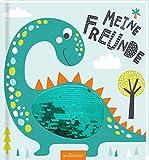 Meine Freunde - Dinos (mit Wendepailletten): Freundebuch ab 4 Jahren für Kindergarten und Kita, für Jungen und Mädchen
