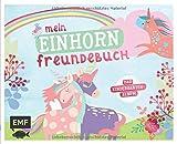Mein Einhorn Freundebuch: Das Kindergartenalbum ab 3 Jahren mit Geburtstagskalender, Steckbriefen für Erzieher und Seiten zum gemeinsamen Gestalten*