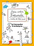 Meine ersten Freunde machen die Welt bunt!: Das Erinnerungsalbum für den Kindergarten*