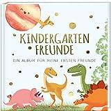 Kindergartenfreunde: ein Album für meine ersten Freunde - DINOS (Freundebuch Kindergarten 3 Jahre) (PAPERISH Geschenkbuch)