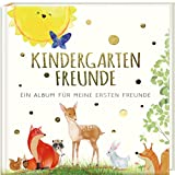 Kindergartenfreunde: ein Album für meine ersten Freunde - TIERE (Freundebuch Kindergarten 3 Jahre) (PAPERISH Geschenkbuch)
