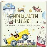 Kindergartenfreunde - FAHRZEUGE: ein Album für meine ersten Freunde (Freundebuch Kindergarten 3 Jahre) PAPERISH®*