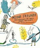 Meine Freunde - zum Eintragen mit Pinsel, Stempel, Kleber: und einer Freundschaftsgeschichte zum Vorlesen*