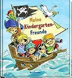 Meine Kindergarten-Freunde: Piraten (Freundebuch für den Kindergarten und die Kita: Meine Kindergarten-Freunde für Mädchen und Jungen)*