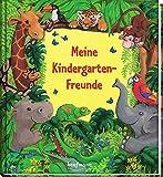 Meine Kindergarten-Freunde: Dschungel (Freundebuch für den Kindergarten und die Kita: Meine Kindergarten-Freunde für Mädchen und Jungen)