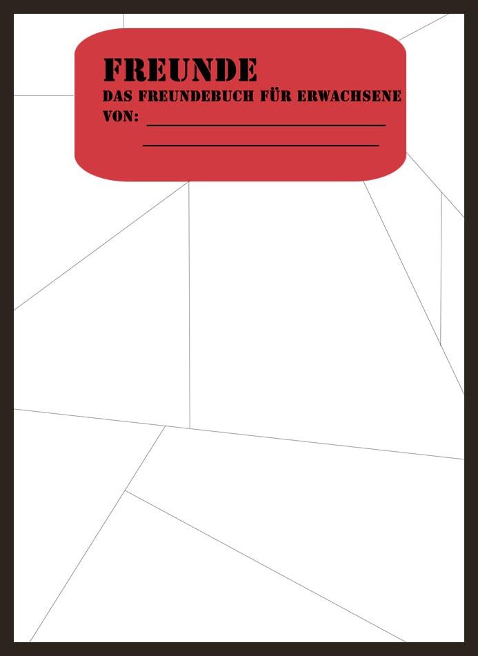 Freundebuch für Erwachsene Cover