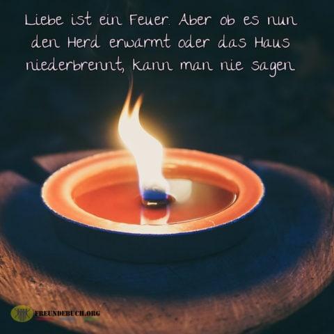 Feuer Der Liebe Freundebuch Sprüche