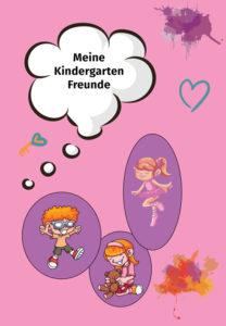 Freundbuch Vorlage Mädchen