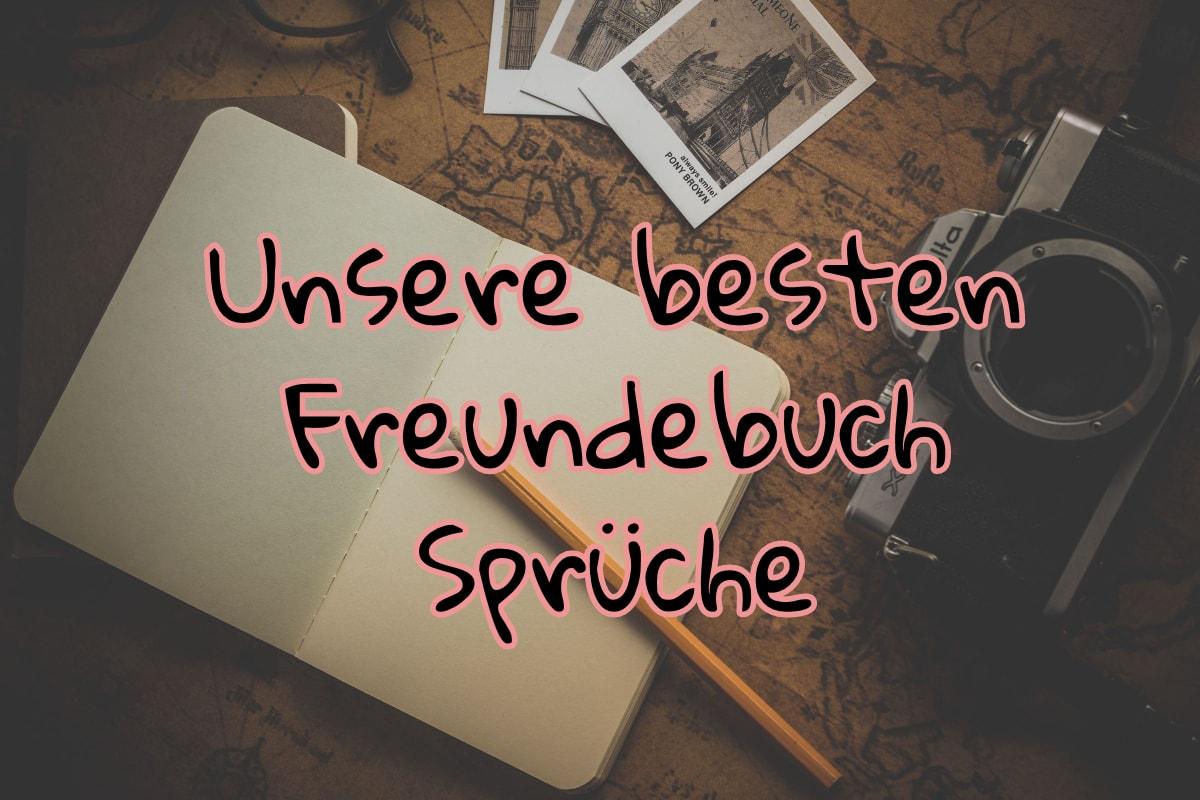 Freundebuch Sprüche