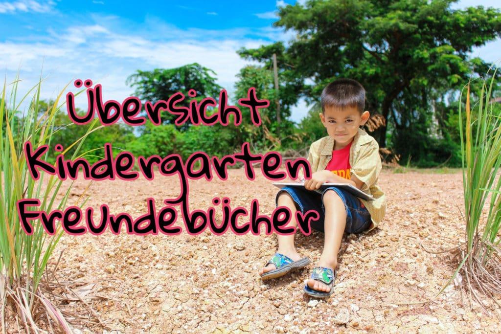 Kindergarten Freundebuch Übersicht