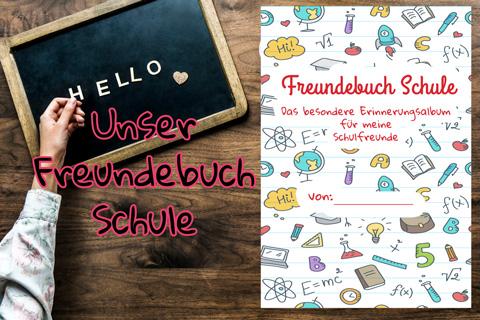 Buch Freundebuch Schule