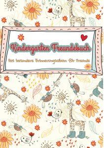 Freundebuch Kindergarten Cover